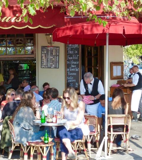 La Brasserie de l'Isle Saint-Louis Paris France