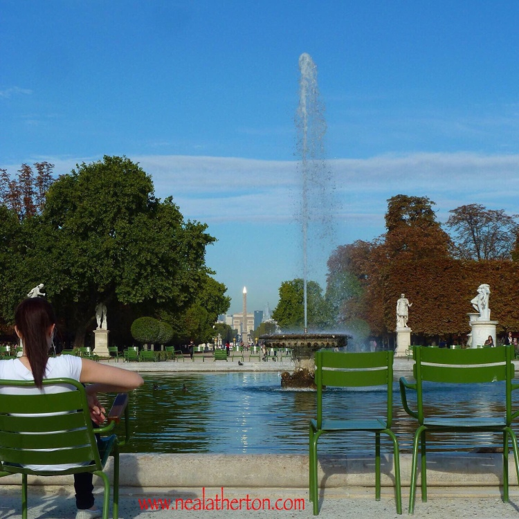 Jardins des Tuileries Paris France - A beautiful place to sit and contemplate